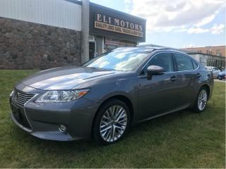 Used 2015 Lexus ES 350 Ultra Premium. Navigation, Parking Sensors. for sale in North York, ON
