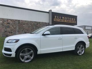 Used 2012 Audi Q7 3.0 Sport S-Line. Navi. Backup Cam. Bluetooth. for sale in North York, ON