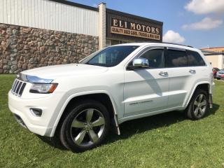 Used 2014 Jeep Grand Cherokee Overland. Navigation, Rear View Camera. Bluetooth. for sale in North York, ON