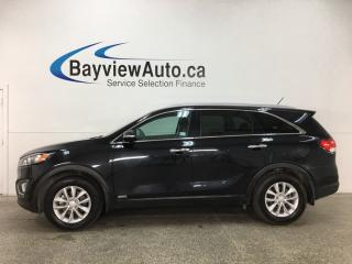 Used 2018 Kia Sorento 2.4L LX - REVERSE CAMERA! BLUETOOTH! TINT! PWR GROUP! for sale in Belleville, ON
