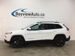 Used 2017 Jeep Cherokee Limited - REM START! PANOROOF! HTD/AC LTHR! NAV! U-CONNECT! for sale in Belleville, ON