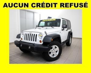 Used 2013 Jeep Wrangler Réservé Sport 4x4 for sale in Mirabel, QC