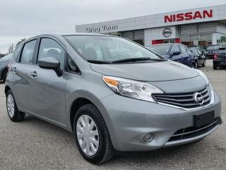 Used 2015 Nissan Versa NOTE SV 5spd w/keyless,bluetooth,sxm radio,rear cam for sale in Cambridge, ON