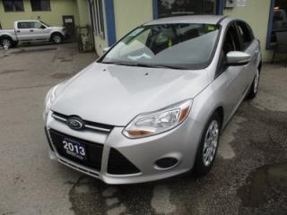 Used 2013 Ford Focus FUEL EFFICIENT SE HATCH 5 PASSENGER 2.0L - DOHC.. CD/AUX/USB INPUT.. KEYLESS ENTRY.. FLEX FUEL.. for sale in Bradford, ON
