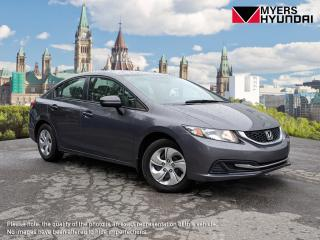 Used 2015 Honda Civic LX Sedan 5-Speed MT for sale in Bells Corners, ON