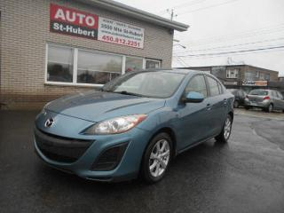 Used 2011 Mazda MAZDA3 GX ** TOUT ÉQUIPE ** for sale in St-Hubert, QC