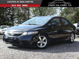 Used 2010 Honda Civic LX-S Sedan Power Sunroof for sale in Ottawa, ON