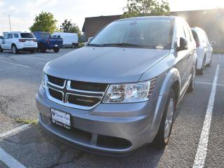Used 2018 Dodge Journey CVP 7 PASSENGER SEATING/UCONNECT/REAR CAMERA for sale in Concord, ON