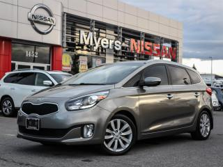 Used 2014 Kia Rondo EX GDI leather, heated seats and steering, electric seat, reverse camera, tilt steering, CD, Bluetooth, intelligent key for sale in Orleans, ON