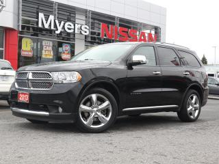 Used 2013 Dodge Durango Citadel for sale in Orleans, ON