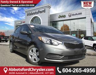 Used 2015 Kia Forte 1.8L LX *ACCIDENT FREE* *LOCALLY DRIVEN* for sale in Abbotsford, BC