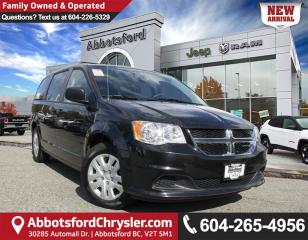 Used 2017 Dodge Grand Caravan CVP/SXT *LOCALLY DRIVEN* for sale in Abbotsford, BC