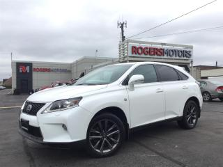 Used 2013 Lexus RX 350 AWD - F-SPORT - NAVI - REVERSE CAM for sale in Oakville, ON