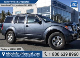 Used 2005 Nissan Pathfinder SE BC OWNED for sale in Abbotsford, BC