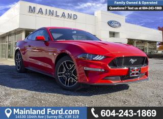 New 2019 Ford Mustang GT Coupe 300A for sale in Surrey, BC