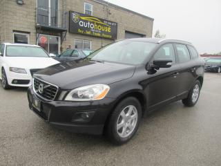 Used 2010 Volvo XC60 AWD, 3.2 6CYL, BLIS, LEATHER, SUNROOF, BLACK ON BLACK. for sale in Newmarket, ON