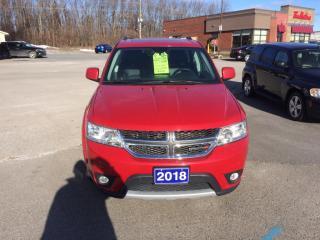 Used 2018 Dodge Journey GT gt loaded 7 passenger awd for sale in Morrisburg, ON