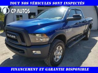 Used 2016 RAM 2500 Cabine multiplaces 4RM, 149 po Outdoorsm for sale in Vallée-Jonction, QC