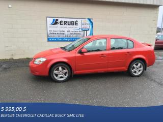 Used 2010 Pontiac G5 for sale in Rivière-Du-Loup, QC