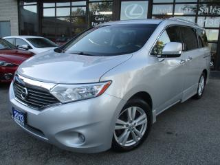 Used 2013 Nissan Quest 3.5 SL-LETHER-CAMERA-HEATED SEATS-BLUETOTH for sale in Scarborough, ON