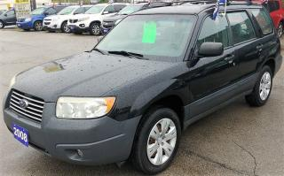 Used 2008 Subaru Forester X for sale in Hamilton, ON
