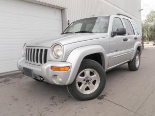 Used 2002 Jeep Liberty LIMITED for sale in Toronto, ON