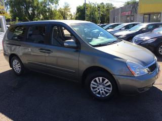 Used 2011 Kia Sedona LX/ AUTO/ POWER GROUP/ CAPTAIN SEATS/ LOADED! for sale in Scarborough, ON