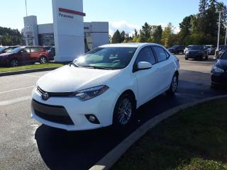 Used 2015 Toyota Corolla LE with Upgrade Package for sale in Pembroke, ON
