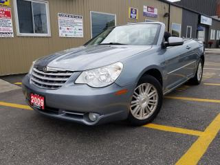 Used 2009 Chrysler Sebring NO TAX SALE 1 WEEK ONLY Touring-LOADED-V6 for sale in Tilbury, ON