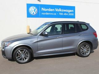 Used 2015 BMW X3 LOADED X3 XDRIVE35i - NAV / HEATED LEATHER / PANORAMIC SUNROOF / ALL WHEEL DRIVE for sale in Edmonton, AB