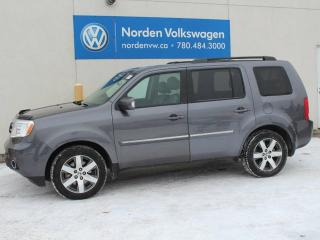 Used 2015 Honda Pilot LOADED TOURING - NAV / HEATED LEATHER / SUNROOF / ALL WHEEL DRIVE for sale in Edmonton, AB