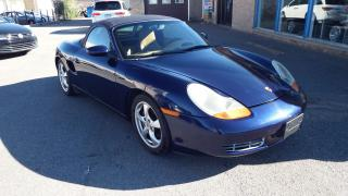 Used 2002 Porsche Boxster MANUAL/LEATHER/HEATED/ALLOY/$$11999 for sale in Brampton, ON