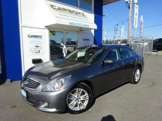 Used 2010 Infiniti G37X  Luxury AWD, Sunroof, Leather, No Accidents!! for sale in Langley, BC