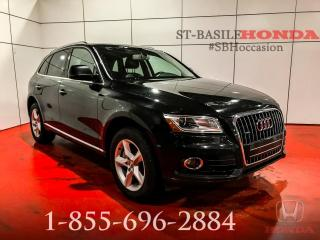 Used 2015 Audi Q5 PROGRESSIV TDI + TECH PACK + WOW !!! for sale in St-Basile-le-Grand, QC