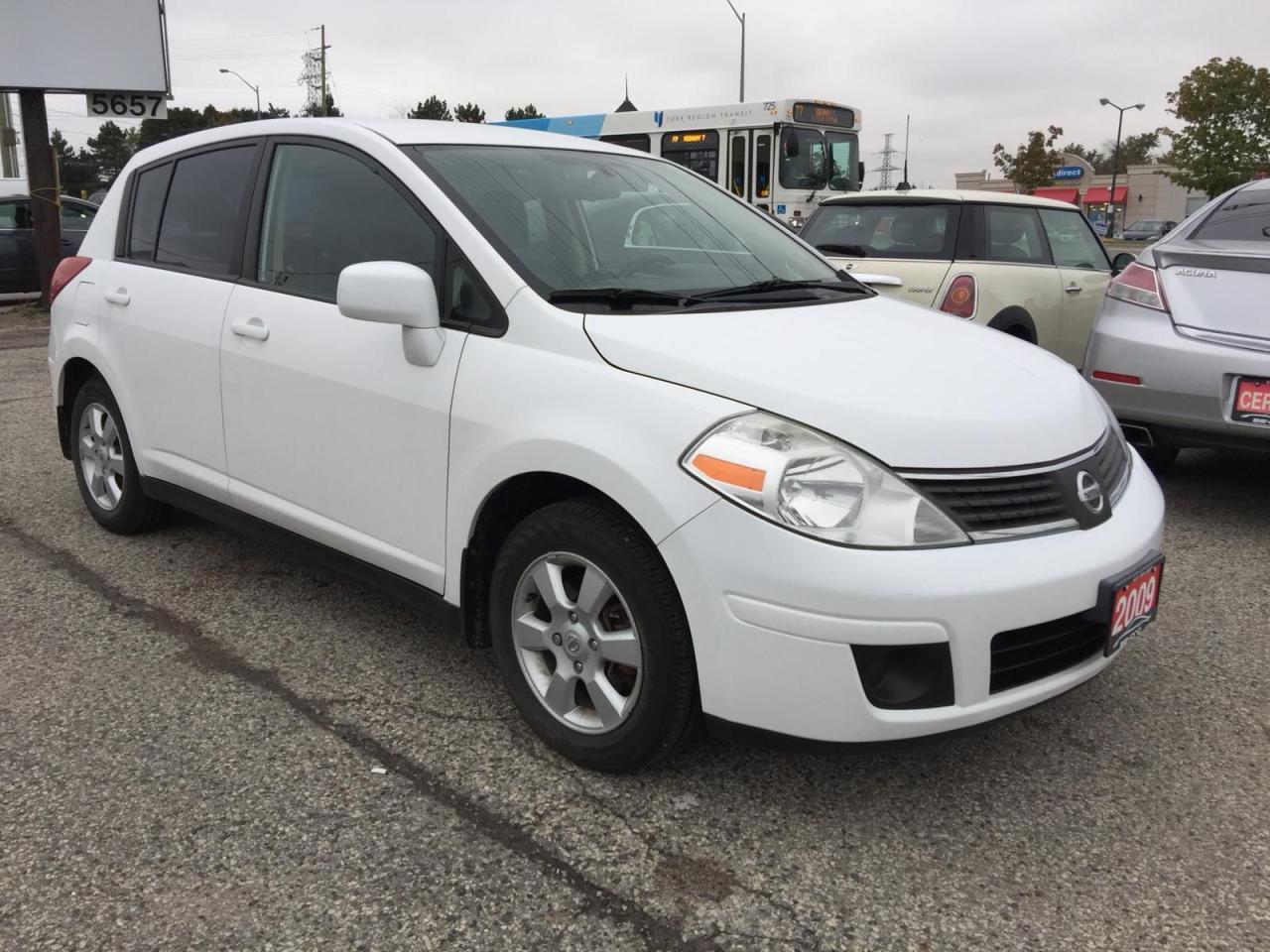 2009 Nissan Versa 1.8 SL FE+, Accident Free, Certified, Warranty