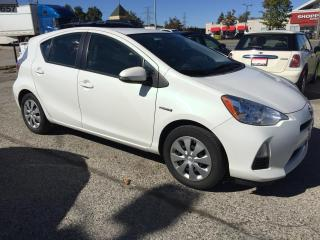 Used 2014 Toyota Prius c HB Tech, CamRecord,No Accident, Certified,Warranty for sale in Woodbridge, ON