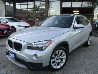 Used 2014 BMW X1 xDrive28i--AWD-LTHER-PANO-ROOF-BLUETOOTH-HEATED for sale in Scarborough, ON