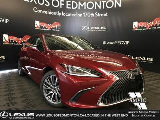 Used 2019 Lexus ES 350 DEMO UNIT - LUXURY PACKAGE for sale in Edmonton, AB