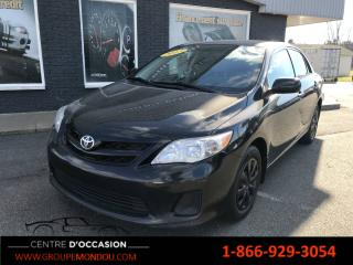 Used 2013 Toyota Corolla Berline 4 portes, boîte manuelle, CE for sale in St-Georges-de-Champlain, QC