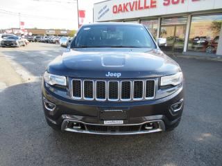 Used 2015 Jeep Grand Cherokee Overland | LEATHER | PANO ROOF | B/U CAM | NAVI | for sale in Oakville, ON