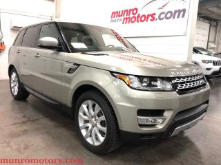 Used 2014 Land Rover Range Rover Sport V6 SE 7 PSGR PANO ROOF BLIS for sale in St. George Brant, ON