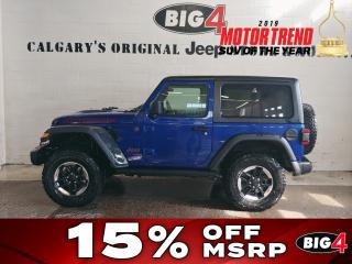 New 2018 Jeep Wrangler RUBICON for sale in Calgary, AB