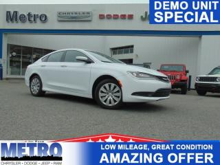 Used 2016 Chrysler 200 LX - Only 3029KMs - Mint for sale in Ottawa, ON