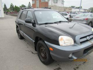 Used 2005 Hyundai Santa Fe GL V6 for sale in Toronto, ON