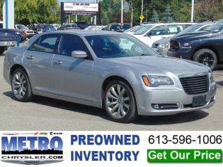 Used 2014 Chrysler 300 S - Fully Loaded for sale in Ottawa, ON