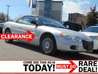 Used 2006 Chrysler Sebring CONVERTIBLE AS-IS for sale in Ottawa, ON