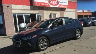 Used 2017 Hyundai Elantra PREMIUM, BACK UP CAMERA, BLIND SPOT ASSIST for sale in North York, ON