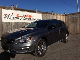 Used 2016 Volvo V60 Cross Country T5 Premier   32000 kms for sale in Stittsville, ON