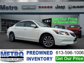 Used 2011 Honda Accord Mint Condition, Sunroof, Bluetooth & More for sale in Ottawa, ON