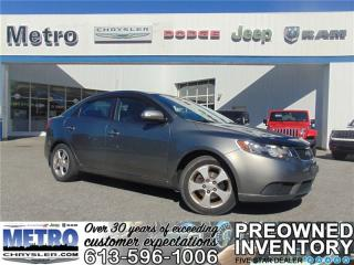 Used 2010 Kia Forte 2.0L LX - Very LOW KMs for sale in Ottawa, ON